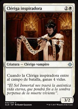 Clériga inspiradora