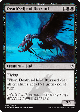 Death's-Head Buzzard