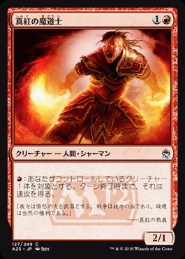 真紅の魔道士