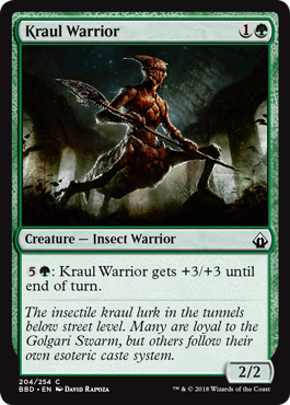 Kraul Warrior
