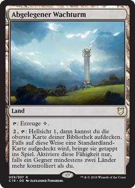 Abgelegener Wachturm
