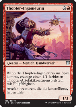 Thopter-Ingenieurin