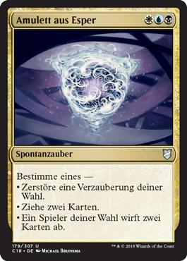 Amulett aus Esper