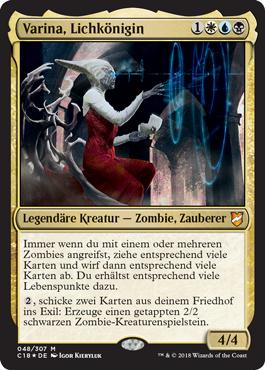 Varina, Lichkönigin