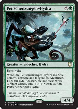 Peitschenzungen-Hydra