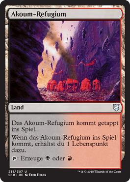 Akoum-Refugium