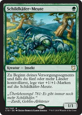 Schildkäfer-Meute