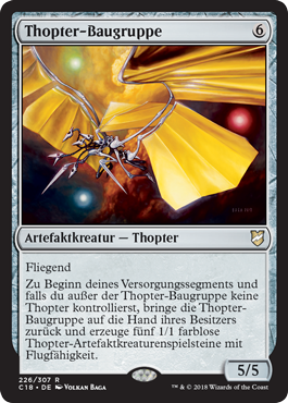 Thopter-Baugruppe