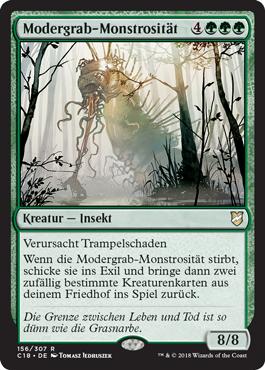 Modergrab-Monstrosität