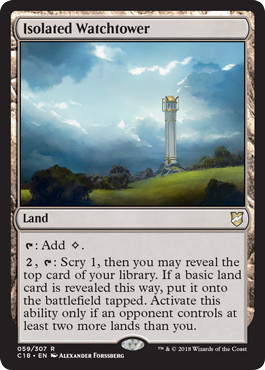 Isolated Watchtower