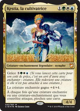 Kestia, la cultivatrice