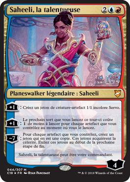 Saheeli, la talentueuse