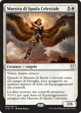 Maestra di Spada Celestiale