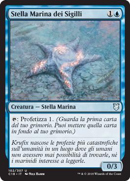 Stella Marina dei Sigilli