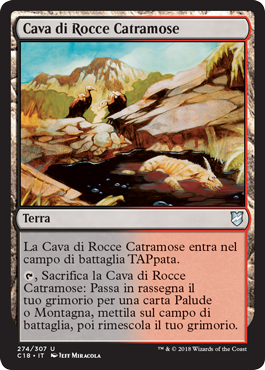 Cava di Rocce Catramose
