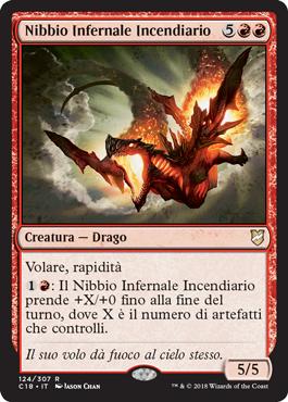 Nibbio Infernale Incendiario