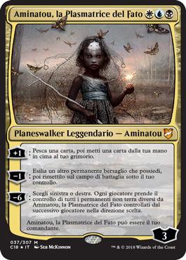 Aminatou, la Plasmatrice del Fato