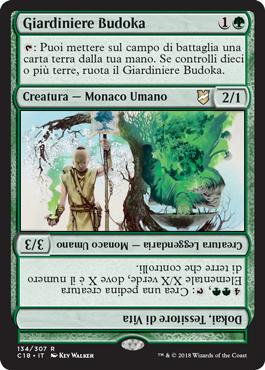 Giardiniere Budoka
