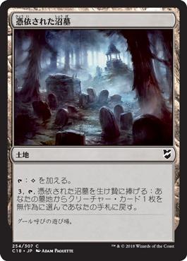 憑依された沼墓
