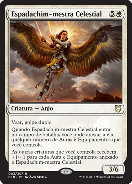 Espadachim-mestra Celestial