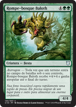 Rompe-bosque Baloth