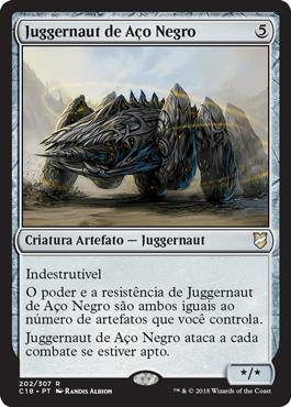 Juggernaut de Aço Negro