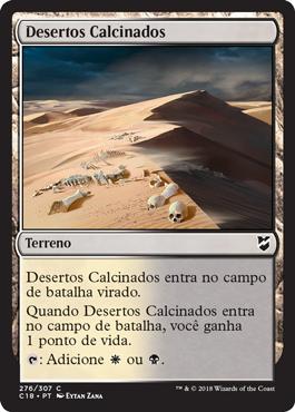Desertos Calcinados