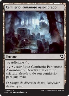 Cemitério Pantanoso Assombrado