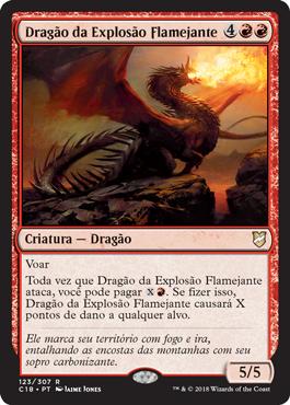Dragão da Explosão Flamejante