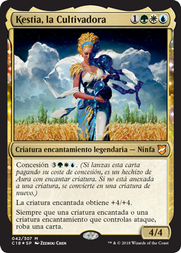 Kestia, la Cultivadora