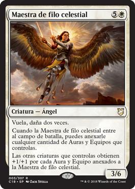 Maestra de filo celestial