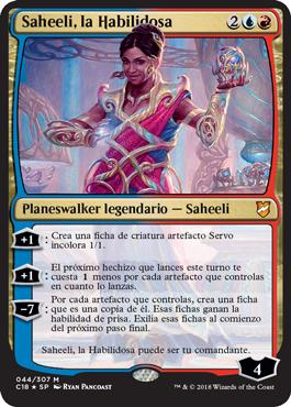 Saheeli, la Habilidosa