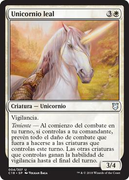 Unicornio leal