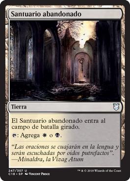 Santuario abandonado