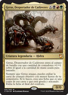 Gyrus, Despertador de Cadáveres