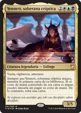 Yennett, soberana críptica