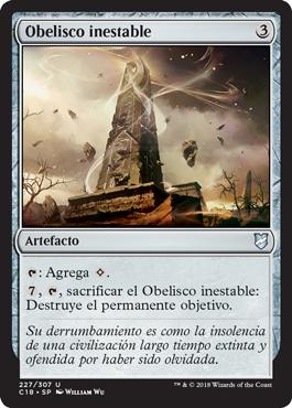 Obelisco inestable