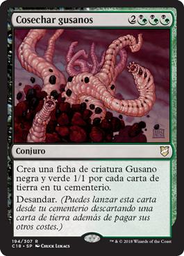 Cosechar gusanos