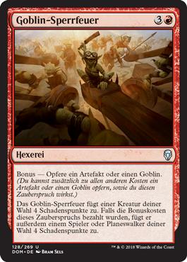 Goblin-Sperrfeuer