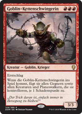 Goblin-Kettenschwingerin