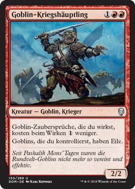 Goblin-Kriegshäuptling