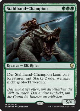 Stahlhand-Champion