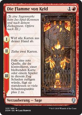 Die Flamme von Keld