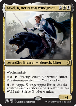 Aryel, Ritterin von Windgrace