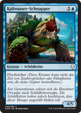 Kaltwasser-Schnapper