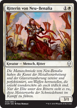 Ritterin von Neu-Benalia