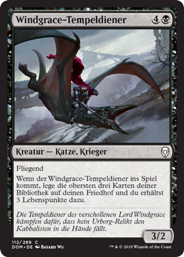 Windgrace-Tempeldiener
