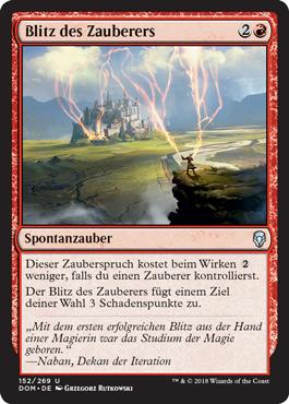 Blitz des Zauberers