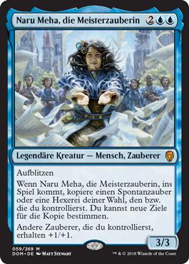 Naru Meha, die Meisterzauberin