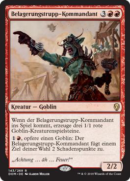 Belagerungstrupp-Kommandant